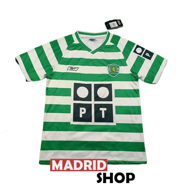 camiseta sporting lisboa retro 2003-2004 local