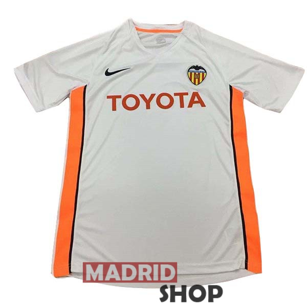 camiseta valencia retro 2006 local