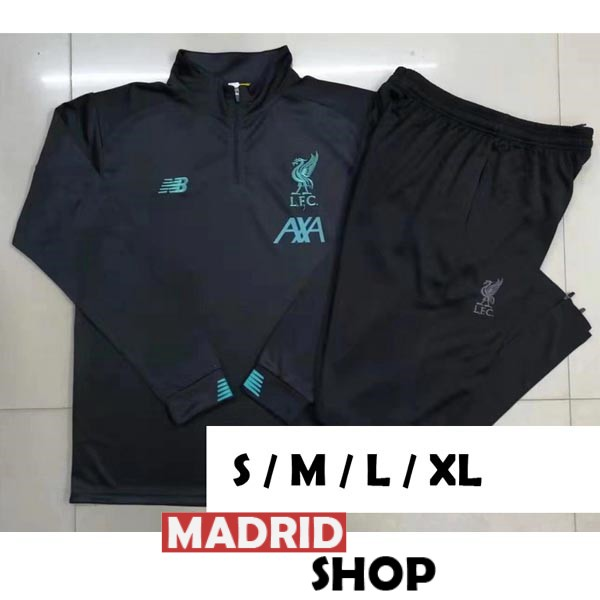 chandal 2019-2020 cremallera liverpool gris oscuro