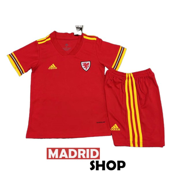 gales ninos camiseta local 2020