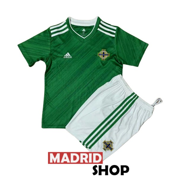 irlanda del norte ninos camiseta local 2020